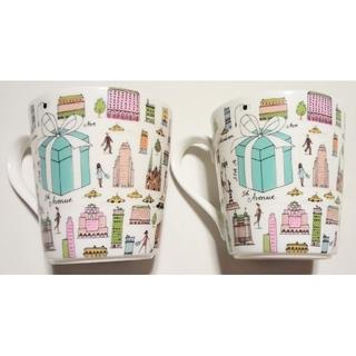 Tiffany & Co. - 大人気のブランド食器(ティファニー 5thアベニューペアマグカップ)未使用品格安