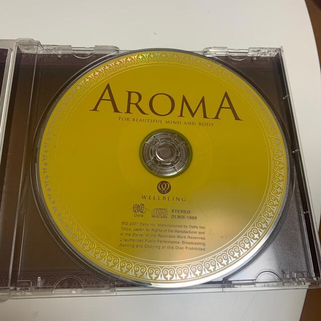 AROMA CD ヒーリング 自律神経 エンタメ/ホビーのCD(ヒーリング/ニューエイジ)の商品写真