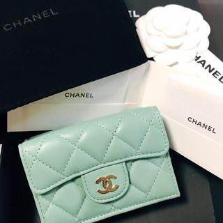 CHANEL - シャネル CHANEL 三つ折り財布 スモールウォレット