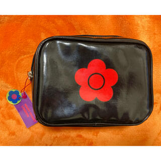 MARY QUANT - マリークワント MARY QUANT LONDON 日本製 ポーチ ミラー付き