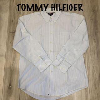 トミーヒルフィガー(TOMMY HILFIGER)の《美品》TOMMY HILFIGER ストライプシャツ(Tシャツ/カットソー(半袖/袖なし))