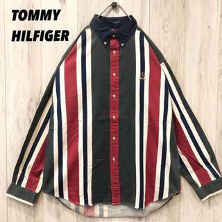 トミーヒルフィガー(TOMMY HILFIGER)の【未使用に近い】TOMMY HILFIGER マルチカラー(Tシャツ/カットソー(半袖/袖なし))