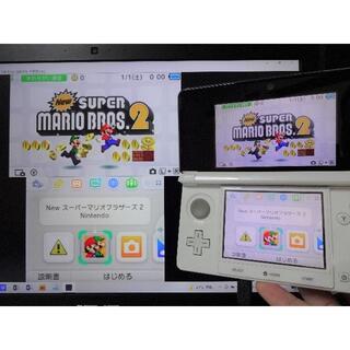 ニンテンドー3DS(ニンテンドー3DS)のゲーム実況配信用『キャプチャー機能付き 3DS ドラクエ限定本体』 偽トロ(携帯用ゲーム機本体)