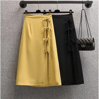 大きいサイズ レディース スカート スリット(その他)