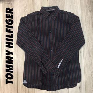 トミーヒルフィガー(TOMMY HILFIGER)の《S》TOMMY HILFIGER ストライプシャツ(Tシャツ/カットソー(半袖/袖なし))