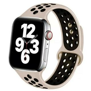 Apple Watch スポーツ バンド 38/40mm サンド/ブラック(その他)