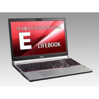 快速PC ノートパソコン FUJITSU E753G P264