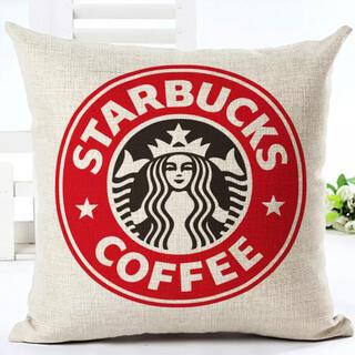 スターバックスコーヒー(Starbucks Coffee)のスターバックス♡クッションカバー(クッションカバー)