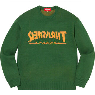 Supreme - Supreme/Thrasher Sweater large