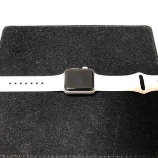 アップルウォッチ(Apple Watch)のApple Watch Series 2 38mm シルバー アップルウォッチ(その他)