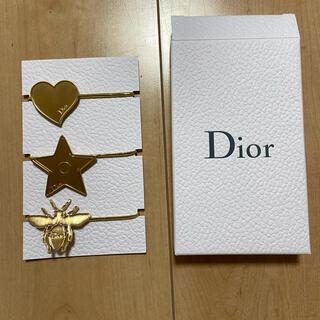 Dior - ディオール ノベルティ ヘアゴム 3つセット 入手困難品