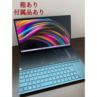 ASUS - 【美品】ASUSノートパソコンZenBookDuo UX481FL-HJ118T