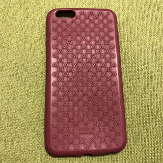 グッチ(Gucci)のGUCCI  iPhone6sプラス シリコンケース(iPhoneケース)
