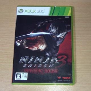 エックスボックス360(Xbox360)のNINJA GAIDEN 3:Razor's Edge(家庭用ゲームソフト)