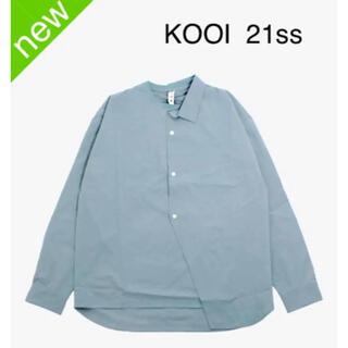 サカイ(sacai)の【新品】KOOI 21ss half shirts L/S tee 長袖シャツ(シャツ)