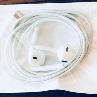 Apple - 3アップル 純正 iPhone X付属品 イヤホン ライニングタイプ動作確認済み
