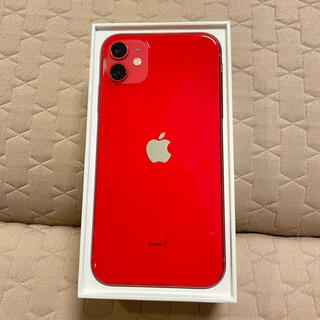 Apple - 【美品】iPhone 11 (PRODUCT)RED 128 GB