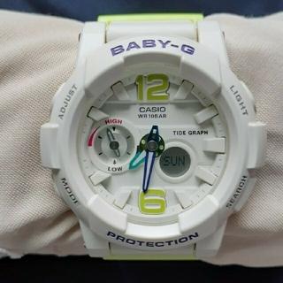 Baby-G - G-SHOCK BABY-G  ホワイト【CASIO】