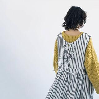 SM2 - Samansa Mos2♡slowlinen バックリボンジャンスカ