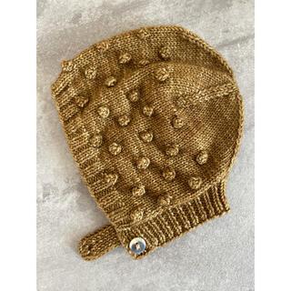 キャラメルベビー&チャイルド(Caramel baby&child )のMisha&Puff ボンネット 美品(帽子)
