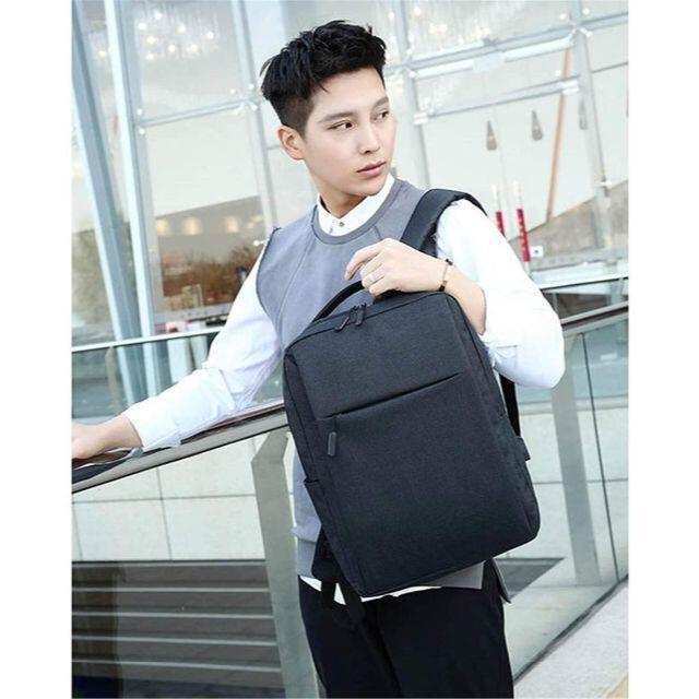 リュック メンズ ブラック ビジネスリュック ビジネスバッグ USBポート搭載 メンズのバッグ(バッグパック/リュック)の商品写真