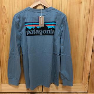 patagonia - パタゴニア Patagonia 長袖 ロンT 藍色 Lサイズ