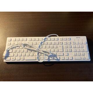 有線キーボードと無線マウス
