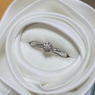 4℃ - 4℃ダイヤモンド指輪