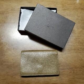 エムピウ(m+)のエムピウ ストラッチョ ゴート(折り財布)