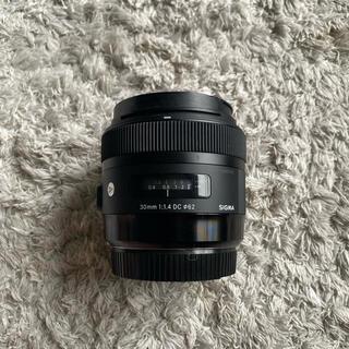 SIGMA - Sigma 30mm f1.4 HSM efマウント canonフルサイズ