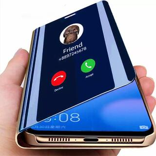 【画面が透ける❗️】大人気❗️マジックミラー手帳型iPhoneケース3