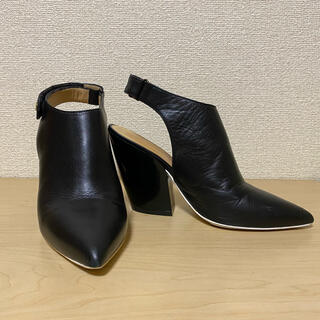 ディーゼル(DIESEL)のディーゼル 革靴  黒(サンダル)
