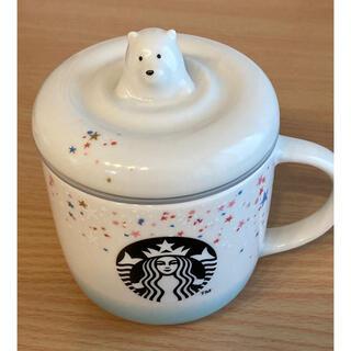 スターバックスコーヒー(Starbucks Coffee)のスターバックス 2018ホリデー ポーラーベアマグカップ(グラス/カップ)