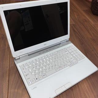 エヌイーシー(NEC)のNEC ノートパソコン LE150/C(ノートPC)