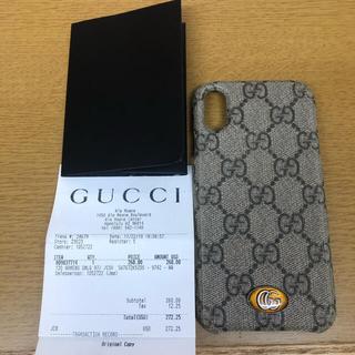 グッチ(Gucci)のGUCCI🌟iPhone X ケース(iPhoneケース)