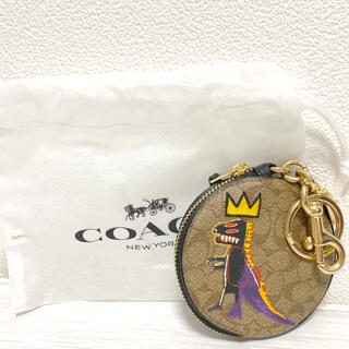 COACH - コーチ バスキア 新品 コインケース 小銭入れ キーホルダー