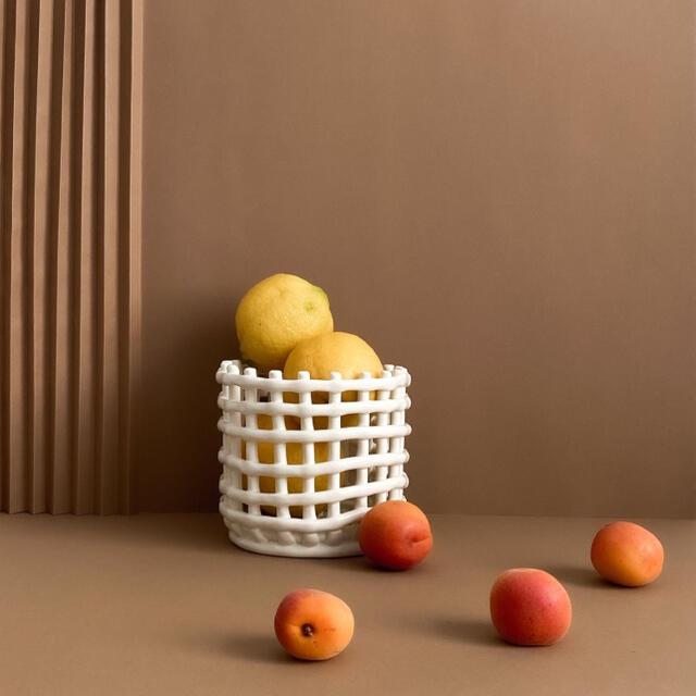 ferm LIVING ファームリビング バスケット 北欧インテリア インテリア/住まい/日用品のインテリア小物(バスケット/かご)の商品写真