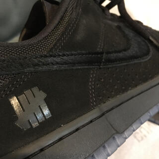 UNDEFEATED - 新品28cm undefeated dunk low sp nike 黒レザー