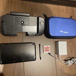 ニンテンドー3DS(ニンテンドー3DS)の任天堂3DS本体、付属品、ポケモンオメガルビーセット(携帯用ゲーム機本体)