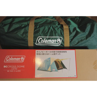 Coleman - コールマン BCクロスドーム 270 グリーン Coleman テント