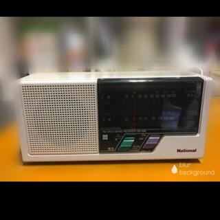 パナソニック(Panasonic)のレトロ アンティーク FM AMラジオ RE496  動作確認済み  (ラジオ)