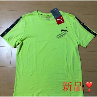 PUMA - 【新品】PUMA Tシャツ ❣️プーマ 蛍光グリーン サイズ:M ❣️