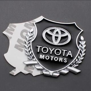 トヨタ - 業界最安狙い TOYOTA トヨタアルミ合金エンブレム ステッカー