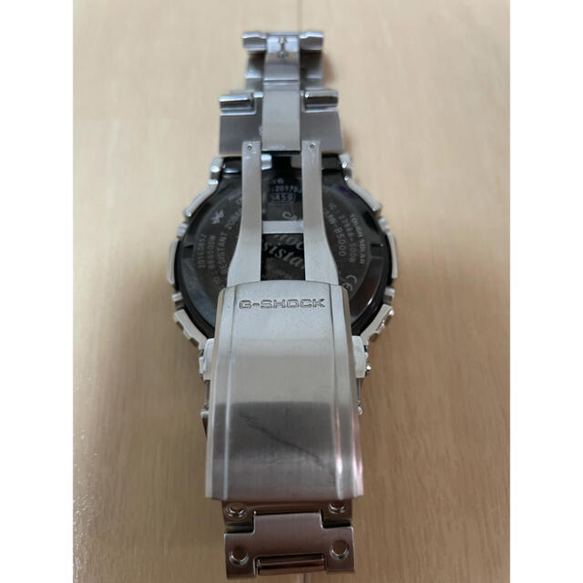 G-SHOCK(ジーショック)のG-SHOCK GMW-B5000D-1JF フルメタル  電波ソーラー 中古 メンズの時計(腕時計(デジタル))の商品写真
