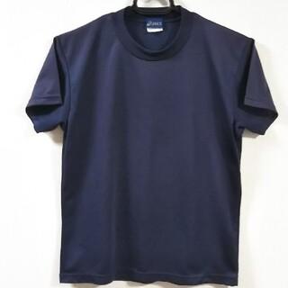 アシックス(asics)のアシックス Tシャツ ネイビー SSサイズ(ウェア)
