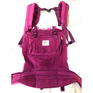 エルゴベビー(Ergobaby)のエルゴベビー 抱っこ紐 紫 パープル(抱っこひも/おんぶひも)