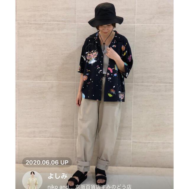 TSUMORI CHISATO(ツモリチサト)のツモリチサト ニコアンド  シャツ レディースのトップス(シャツ/ブラウス(半袖/袖なし))の商品写真