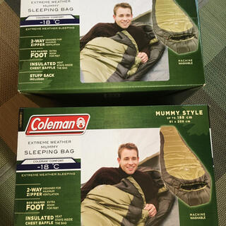 Coleman - Coleman  コールマン シュラフ スリーピングバッグ  マミー型  寝袋