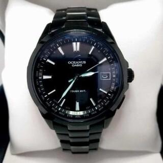 カシオ(CASIO)のCASIO OCEANUS OCW-S100B-1AJF オールブラックIP(腕時計(アナログ))