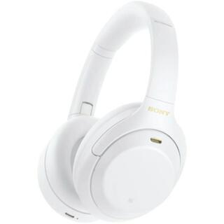 SONY - ソニー ノイズキャンセリング機能搭載 ヘッドフォン サイレントホワイト